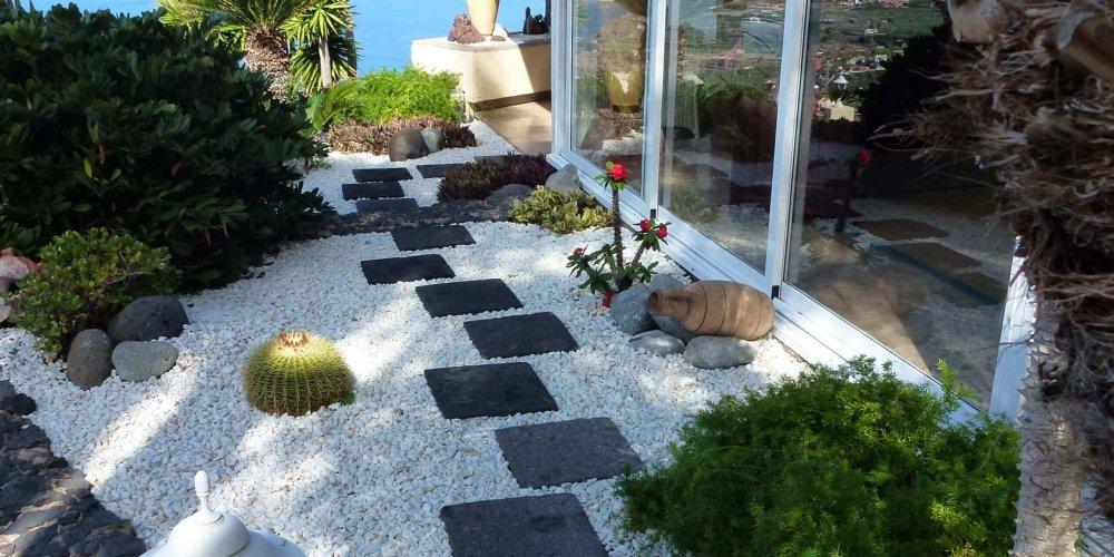 Mein Vulkanstein-Garten auf Teneriffa
