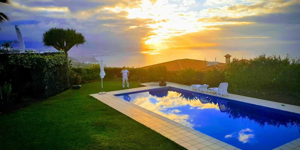 Poolpflege auf Teneriffa per Smartphone