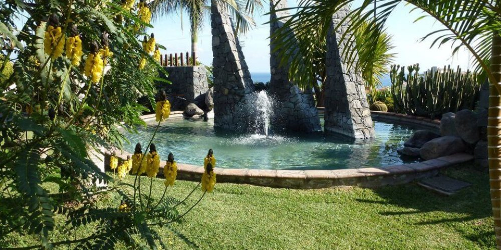 Verspielte Wasserspiele für Garten und Terrasse